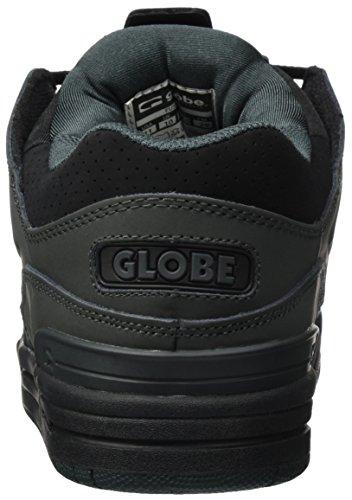 Globe Herren Fusion Skateboardschuhe, Schwarz (Black/night 10864)