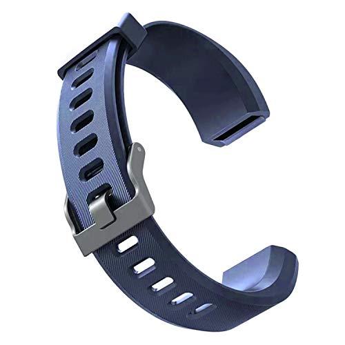 Sopear Ersatzarmband für fitness tracker ID115 HR Plus| Antimi Fitness Armband | | YG8 PLUS HR | YAMAY Fitness Armband | CHEREEKI Fitness Tracker Farbdisplay & viele weitere Modelle aus hautfreundlichem TPU & nickelfreiem Verschluss