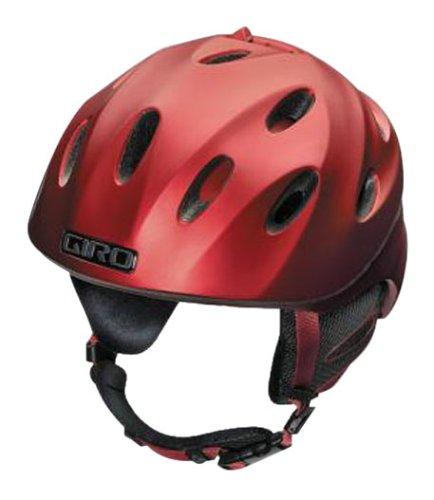 Snowboard-helm Giro Rot (Giro Sicherung Snow Helm, matt Blut rot, groß)