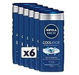 Nivea Men Shampoo, 6 Stück Energy