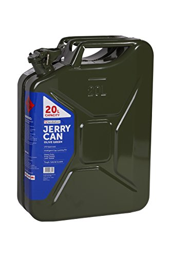 Sandleford 20 Litre Metal/Steel Jerry Can Suits Fuel Diesel Petrol 20L UN  Approved (Green)