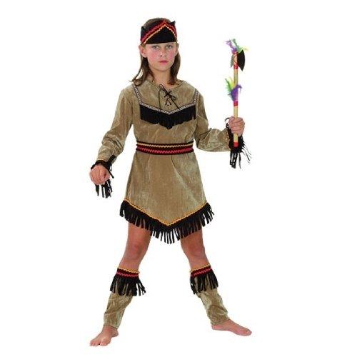 Fyasa 706081-t01Indian Girl Kostüm, Mittel