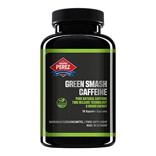 Koffein 200 mg - Grüner Kaffee Extrakt - 90 Vegane Kapseln
