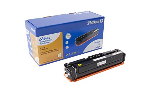 Pelikan Toner ersetzt HP CF402X (passend für Drucker HP Color LJ Pro M 252 / -270 / -274 / -277)