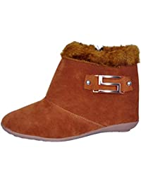 Zenno India S-Buckle Boots For Women Casual Stylish (2 Colour Boots )