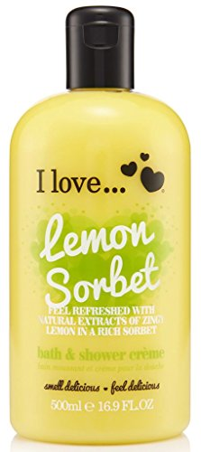 I love Lemon Sorbet Bubble Bath and Shower Creme 500 ml by I love lo