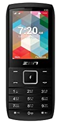 ZEN X55 Star Dual SIM Feature Phone (Black)