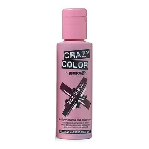 Crazy Color Coloration Fugace Bordeaux 100 ml
