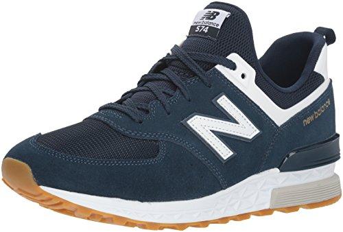New Balance 574S, Zapatillas para Hombre, Azul (Vintage Indigo/White Fcn), 43 EU