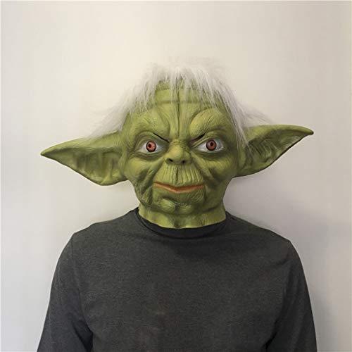 Außerirdische Kopfbedeckung Halloween Maske, Horror Haunted House Bar Dance Cos Star Wars
