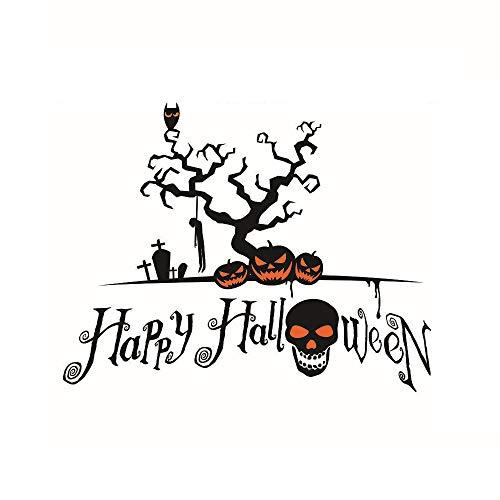 Sophie Marceau Halloween Seltsame Friedhof Burg Kürbis Wandaufkleber, Anti-Korrosions, Verwendet, Um Kinderzimmer Halloween-Party Zu Dekorieren