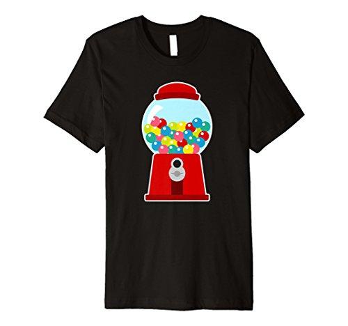 (Premium Damen Gumball Maschine Kostüm Bubblegum Kids Shirt)