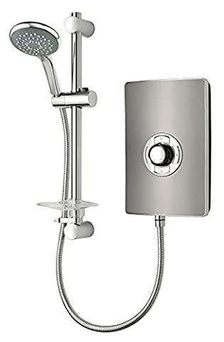 Triton Collection II 9.5 kW Electric Shower - Gun Metal