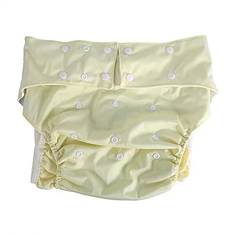 Culotte Adulte - ZJchao Adultes Couches En Tissu Réutilisable Pour
