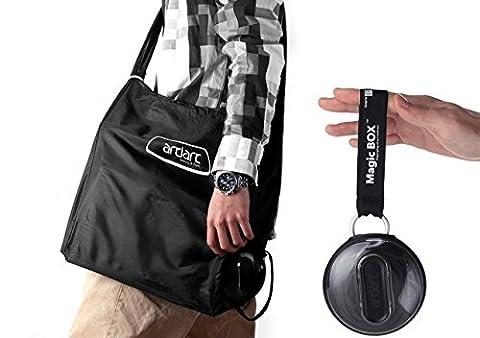 Magic Jack in the Box Unisex Stylish Reusable Foldable Shopping Bag (38x42cm)
