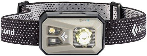 Black Diamond Revolt Headlamp Nickel/Wiederaufladbare Stirnlampe mit Rotlicht, Blinklicht und dimmbarer LED/Wasserdicht nach IPX8, Max. 300 Lumen