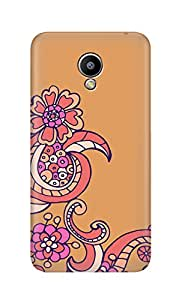 SWAG my CASE Printed Back Cover for Meizu M2 Note