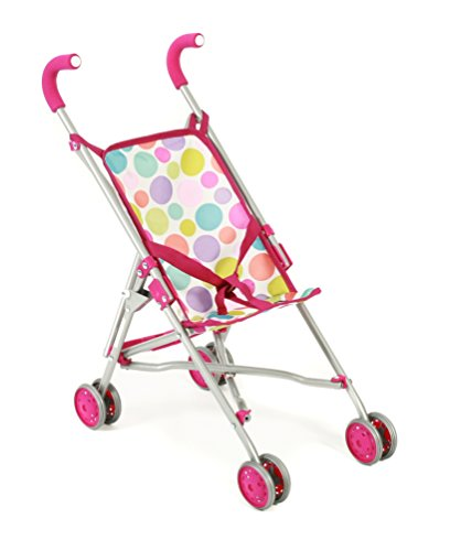 bayer-chic-2000-601-17-mini-buggy-roma-puppenwagen-pinky-bubbles-pink