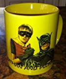 Books by the Sea ONLY FOOLS AND HORSES YELLOW MUG, BATMAN AND ROBIN