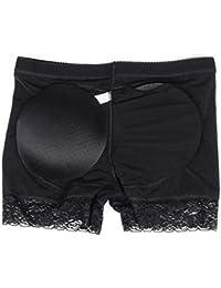 4d35137d6fe Queenral Culotte Amincissante Pad Control Pants Butt Lifter Femme Dentelle