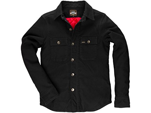Preisvergleich Produktbild Jeans Jacke ROKKER Black Jack Rider Shirt warm,  4XL