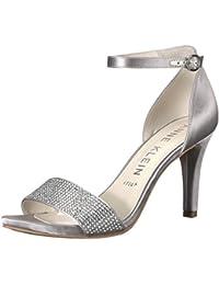 4166d1d72868 Anne Klein Women s Odree Ankle Strap Evening Sandal Heeled
