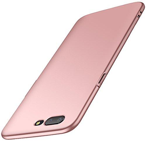 Anccer Funda OnePlus 5 Case [Serie Colorida] [Ultra Delgado] [Anti-Drop] ultrafin Premium Carcasa OnePlus Five (Oro rosa liso)