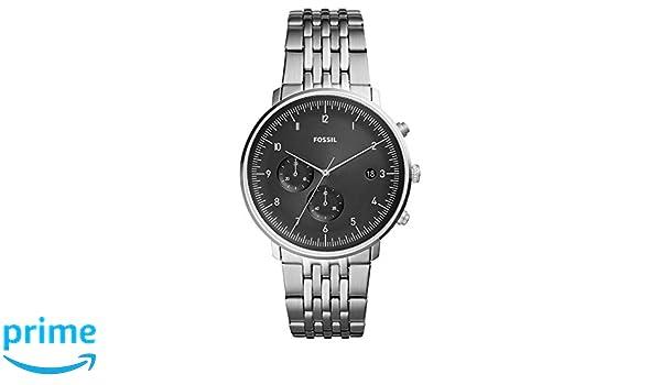 Fossil Armband Herren Quarz Fs5489 Chronograph Uhr Mit Edelstahl OZPXkiu