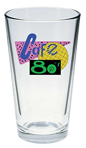 Back To The Future - Cafe 80s Pint Glass