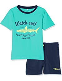 NAME IT Nitzacco Ss Shorts Set Nmt, Conjunto para Niños