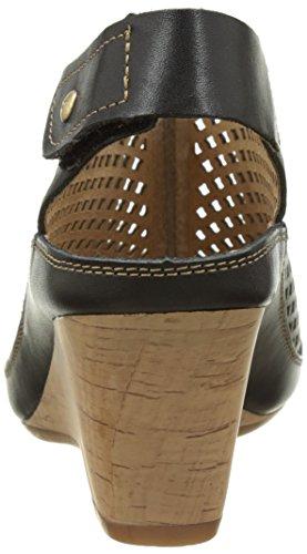 Pikolinos Capri W8f_v17, Sandales Bout Ouvert Femme Noir (Black)
