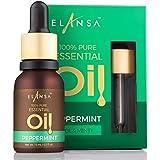 Elansa 100% Pure Peppermint Essential Oil, 15ml