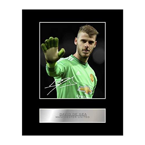 David De Gea Signiert Foto Display Manchester United FC # 01 -