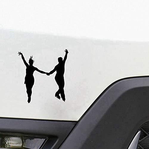Auto Aufkleber 14.5x15.5cm Mode Eis tanzen Auto Aufkleber Abziehbilder, die den Körper für Auto Laptop Fenster Aufkleber abdecken