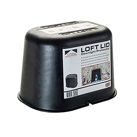 LoftLeg Loft Lid Fire Rated Downlight Loft Protection Cover Cap
