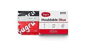 Sugru Mouldable Glue - Original Formula - Black, White & Red (3-Pack)