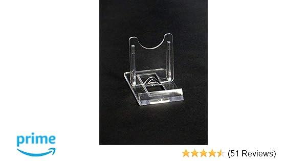 Gut bekannt 10 Tellerständer Tellerhalter Acryl 40 x 70 mm Höhe 50 mm: Amazon TQ03