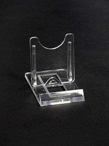 10 Tellerständer Tellerhalter  Acryl 40 x 70 mm Höhe 50 mm (Video-spiele Steelbooks)