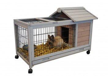 Cage pour lapin d'Interieur ou d'Exterieur Dunland