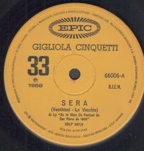 """SERA 7"""" (45) BRAZILLIAN EPIC 1968 B/W QUANDO M'INNAMORO (66006)"""