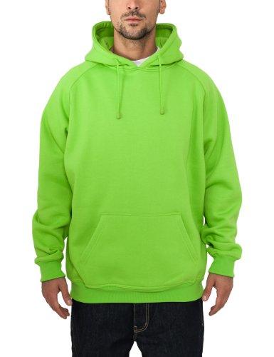 Urban Classics Bekleidung Pullover Felpa da Uomo, Verde (Limegreen), Medium (Taglia Produttore: Medium)
