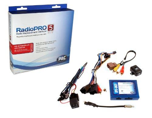 CAN-BUS Adapter-Set RP5-GM31 (OS-4+SWI-RC) für GMC, Chevrolet, Cadillac ohne OEM Navigation Pac Navigation