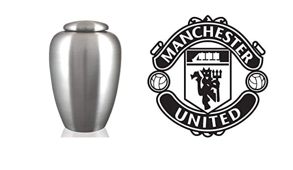 The Coffin Company English Pewter Cremation Ashes Urn Adult Male Female Arsenal Fc Engraved Uk Football Team Logo