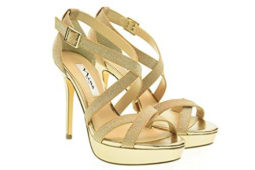 NINA donna sandali SEVILLA-Y GOLD Oro