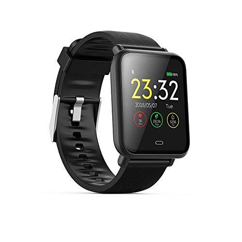 Wysgvazgv Smart-Armband, Fitness-Aktivitätstracker, wasserdicht, IP67, Herzfrequenz, Schlafüberwachung, Schrittzähler, Blutdruck, SMS, SNS Anruf, Alarm Farbdisplay für iOS Android iPhone Frau Mann