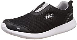 Fila Mens Smack Black and Grey Sneakers - 7 UK/India (41 EU)