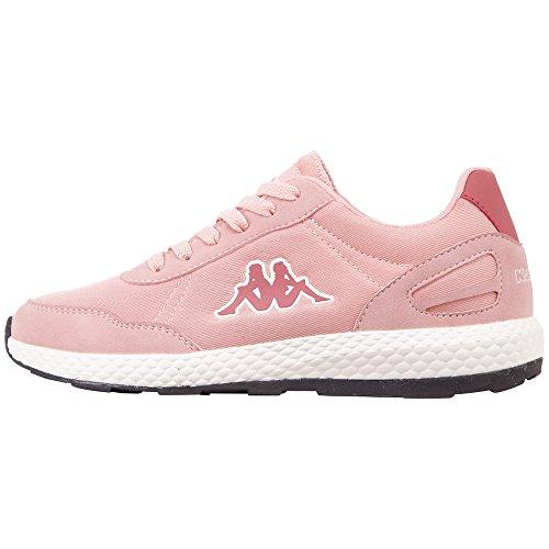 Kappa Damen Every Sneaker, Rot (Rosé/Darkrosé 2171), 40 EU