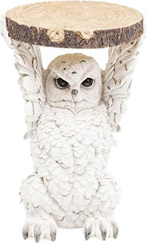 Kare Design Animal Owl Side Table, 52 x 35 x 33 cm