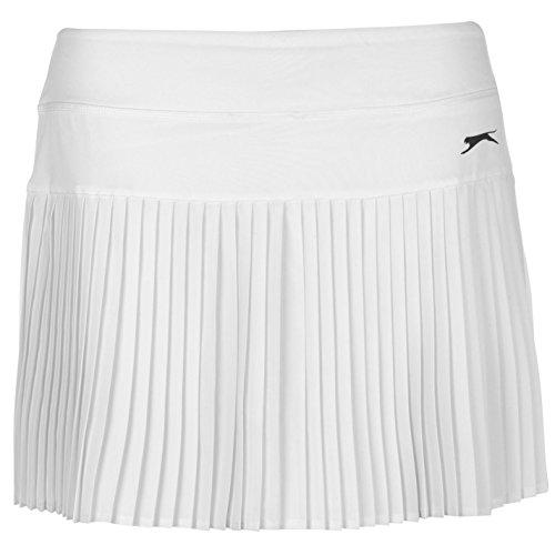 Slazenger Womens Baseline Tennis Skort Skirt Breathable Elastic All Over Pleated
