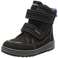 Richter Kinderschuhe Boys Snow Boots, Black (Black/Lagoon 9900), 9.5 UK